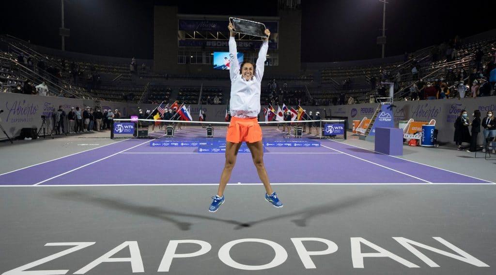 Sara Sorribes gana su primer torneo WTA