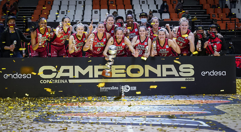 Primera Copa de la Reina para el Spar Girona