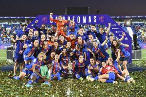 Triplete histórico para el Barça