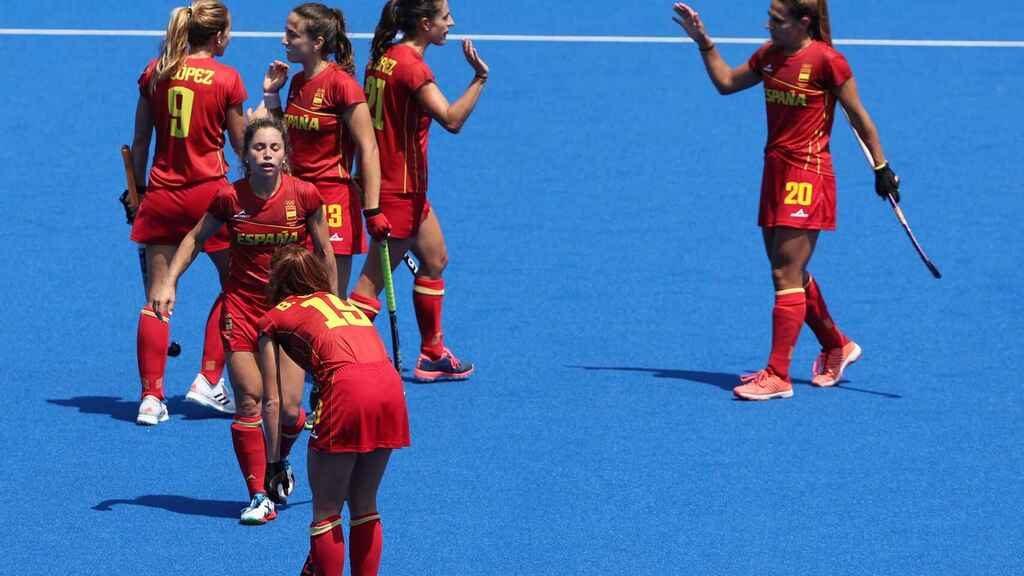 """Las """"Red Sticks"""" consiguen su primera victoria en los Juegos Olímpicos de Tokio 2020"""