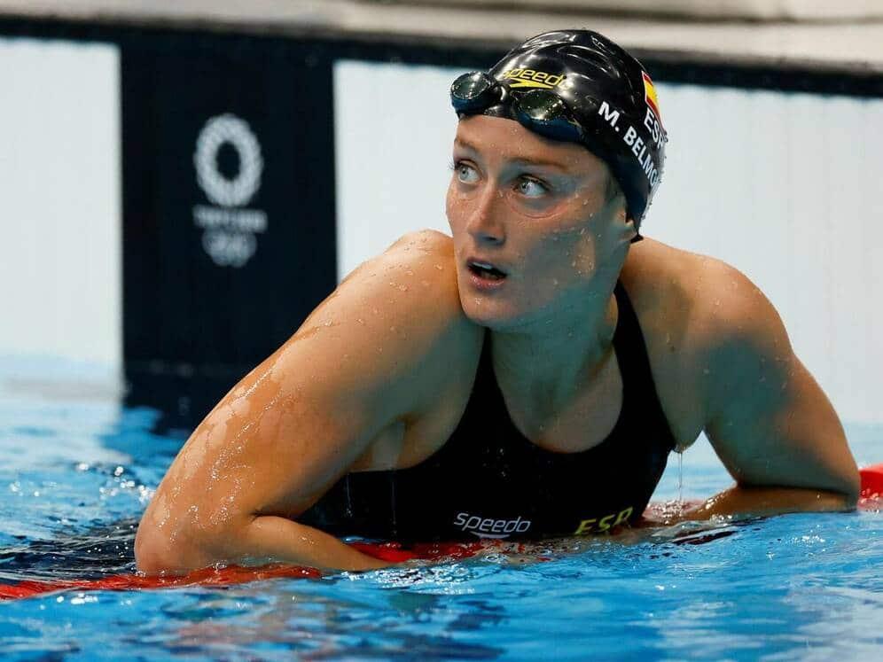 Mireia Belmonte roza el bronce en la final de 400m estilos
