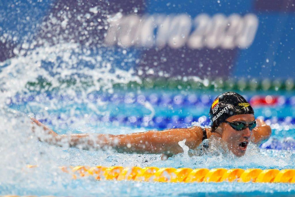 Cruz para las españolas en natación