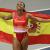 Ana Peleteiro, bronce olímpico en triple salto