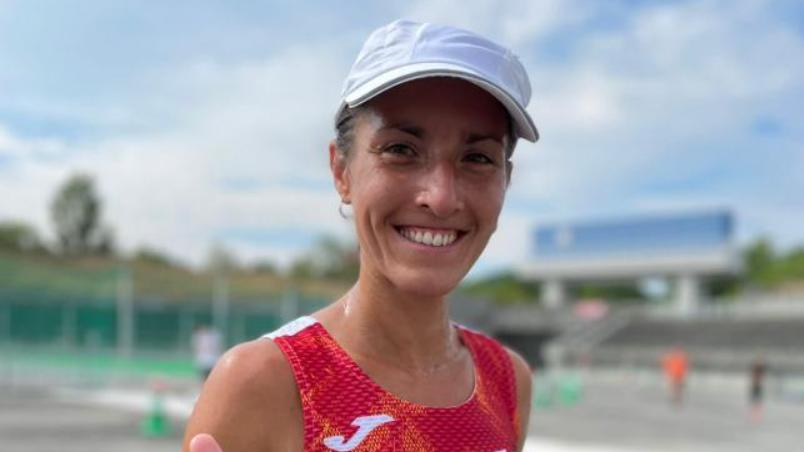 Laura Méndez pierde el conocimiento en la maratón de Tokio 2020