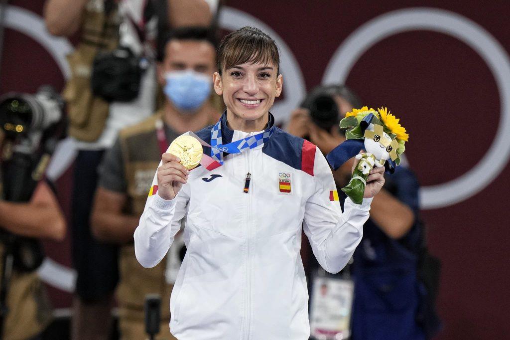 Sandra Sánchez, oro olímpico en kata en Tokio 2020