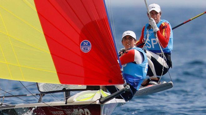 Tamara Echegoyen y Paula Barceló, a un punto de la medalla