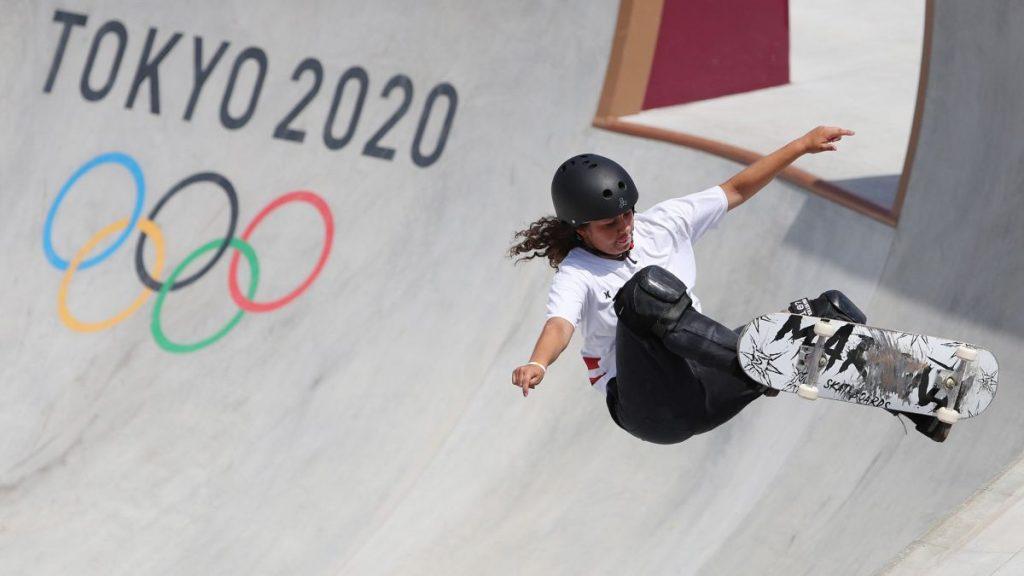 Julia Benedetti cae en Tokio con una arriesgada actuación