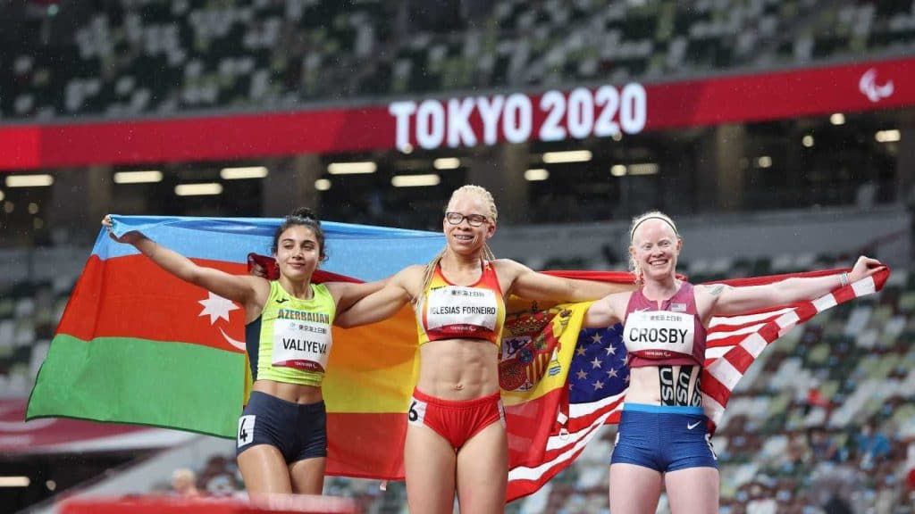 Adi Iglesias, oro en los 100 metros T13