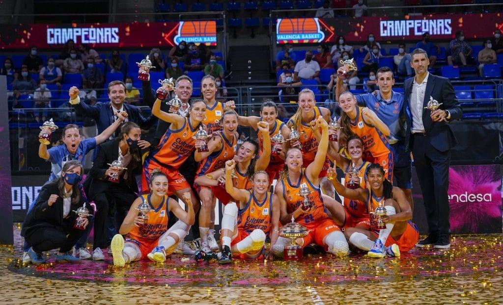 El Valencia Basket, campeón de la Supercopa LF Endesa