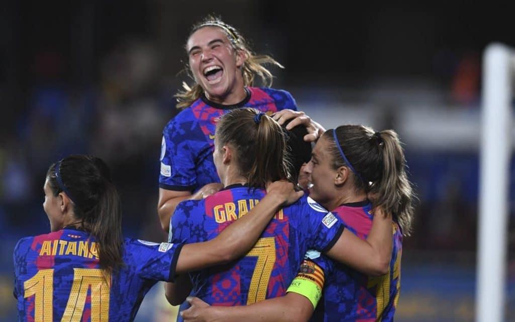 El Barcelona empieza la Champions en modo apisonadora